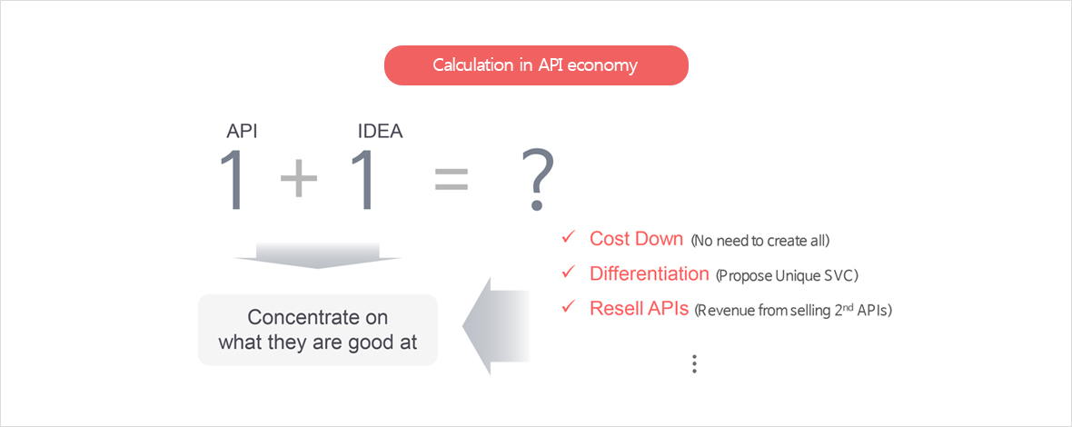 Calculation in API economy